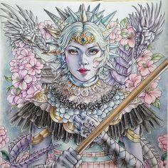 Fantasia Fantasiacoloringbook Adultcoloringbook PhoenixColoring BookTagsInstagramArt