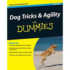 Dog Tricks & Agility For Dummies (previously titled Dog Tricks For Dummies) makes trick and agility training fun for both you and your dog. You will learn to teach simple tricks, like tail wagging or barking on command to more complex tricks like fetching keys, your dog's dinner bowl, or the laundry.  $4.99  http://www.calendars.com/Assorted-Dogs/Dog-Tricks-and-Agility-for-Dummies-Book-2nd-Edition/prod201300012188/?categoryId=cat00188=cat00188#