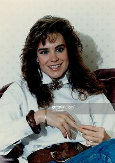 Sins co-star Catherine Mary Stewart seems to be a shoo-in for any ingenue role in a mini-series. Hollywood Stars, Classic Hollywood, Catherine Mary Stewart, Female Cyclist, Female Stars, Actors & Actresses, Dreadlocks, Celebs, Hair Styles