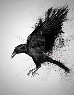 Μαύρο πουλί BJ