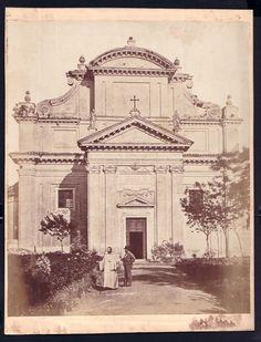 Roma Abbazia Delle Tre Fontane Circa 1870
