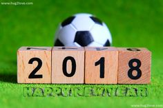 New Year 2018 Wallpaper For Football Lovers