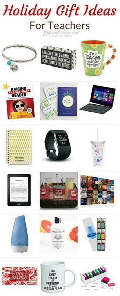 Holiday Gift Guide for Teachers - Awesome gift ideas for the teacher on your Christmas shopping list.