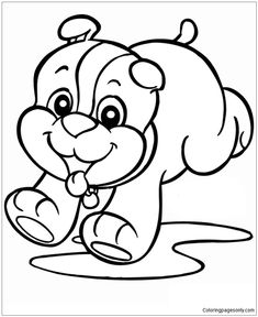 Puppy Dog Coloring Sheets New Printable Happy Birthday Coloring Pages with Dogs Coloring Train Coloring Pages, Puppy Coloring Pages, Coloring Pages For Boys, Coloring Pages To Print, Coloring Book Pages, Coloring Sheets, Kids Coloring, Free Coloring, Happy Birthday Coloring Pages