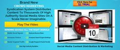 SociSynd is Social Media SEO Software that builds Backlinks,Increases your web… http://itz-my.com