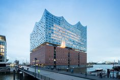 herzog & de meuron's elbphilharmonie photographed by iwan baan the plaza, a viewing platform 37 metres above ground, has opened two months ahead of the building's official inauguration early next year.