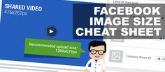 If you're a social media expert, graphic designer or brand manager searching for all those important Facebook image sizes and dimensions – look no further! This Facebook Image Sizes and Dimensions …