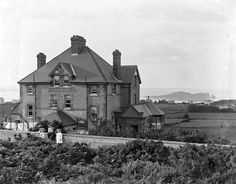 """[Waverley Hotel, Howth, Co. Dublin] Published / Created: [between In collection: Eason Photographic Collection Subjects: """". Dublin Street, Old And New, Old Photos, Monument Valley, Revolution, Ireland, Irish, Photographs, Hotels"""