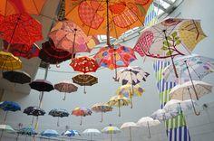 Masaru Suzuki Umbrella Exhibition at Spiral Aoyama