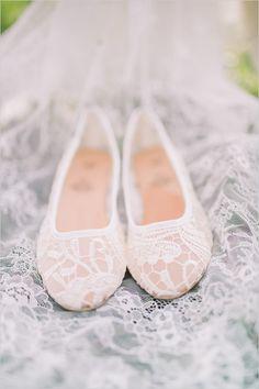 lacey wedding flats @weddingchicks