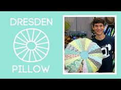 Dresden Template Pillow: Easy Sewing Tutorial with Rob Appell of Man Sewing - Using FOR YOU fabrics by Zen Chic for Moda