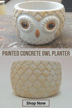 All our products are unique, #handmade and on sale at our #Etsy #Shop Painting Concrete, Decorative Bowls, Shop Now, Planters, Hand Painted, Etsy Shop, Marketing, Unique, Handmade