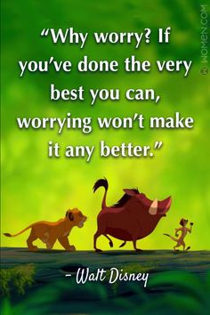 """15 Walt Disney Quotes That'll Make You Believe In The Impossible - """"Why worr. - 15 Walt Disney Quotes That'll Make You Believe In The Impossible – """"Why worry? Disney Quotes To Live By, Cute Disney Quotes, Walt Disney Quotes, Disney Love, Cute Quotes, Inspirational Disney Quotes, Disney Family Quotes, Disney Senior Quotes, Beautiful Disney Quotes"""