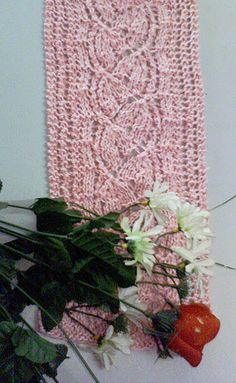 free knitted scarf pattern