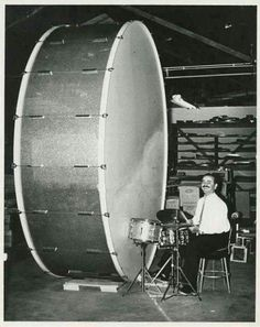 Wow, now that's a drum!
