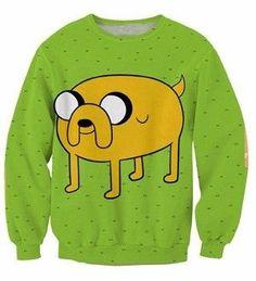 Adventure Time - Jake 4 Paws / Sweatshirt / Becray.com