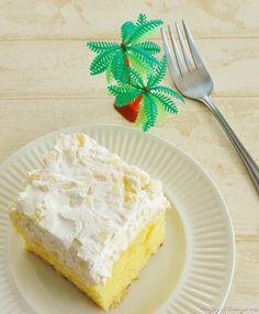 The Joy of Caking (Pineapple Cheesecake Pudding Cake)