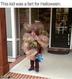 Fart costume for kids, funny costume, best halloween costumes for kids, diy kids