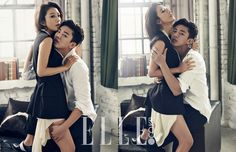 Yoo Ah In and Kim Hee Ae ~ Elle magazine unpublished pics! Korean Photography, Boy Photography Poses, Movie Couples, Cute Couples, Korean Actresses, Korean Actors, Yoo Ah In, Korean Wedding, Korean Couple