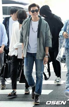 #Rm Bts at Incheon airport heading to LA