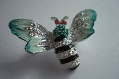 Colorful Bee Brooch by RoniSeaVintage on Etsy, $15.99