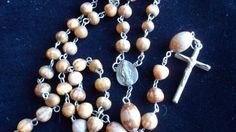 Rescued Restored and Recycled Catholic Rosary by LoveandReloved. SOLD.
