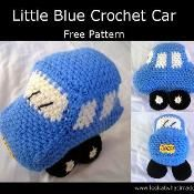 Little+Blue+Crochet+Car+-+via+@Craftsy