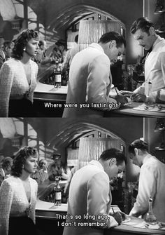 Casablanca <3 I may need to rewatch this:)