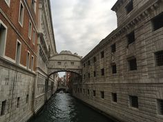 Bridge of sighs...