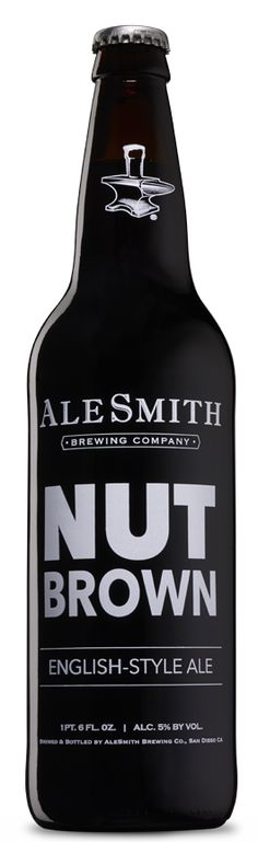 Nut Brown Ale - AleSmith Brewing Co. One of my favorites.
