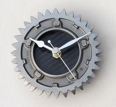 Honda Formula 1 wall desk clock made from a silver by LedonGifts