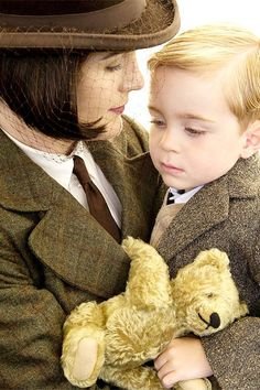 Lady Mary and her son, George.