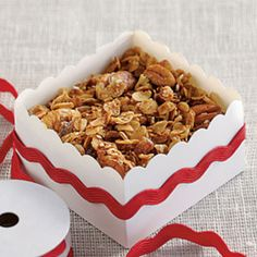 Food Gifts for Christmas: Butter-Pecan Granola