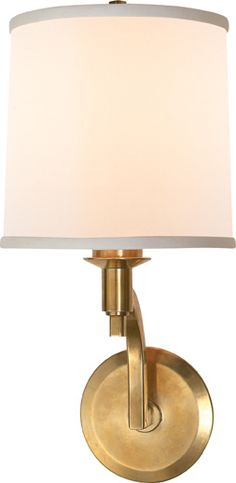 Circa Lighting WESTPORT SCONCE by Barbara Barry in Soft Brass finish