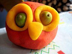 Play dough Owl