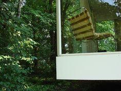 1951 Mies van der Rohe designed Farnsworth House