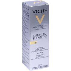 VICHY LIFTACTIV Flexilift Teint 25:   Packungsinhalt: 30 ml Flüssigkeit PZN: 05510266 Hersteller: L Oreal Deutschland GmbH Preis: 15,66…