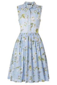 Spring Bloom Flared Shirt Dress - Dresses - French Connection Usa