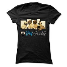 Pug Friendzy T-Shirts, Hoodies. VIEW DETAIL ==► https://www.sunfrog.com/Pets/Pug-Friendzy.html?id=41382