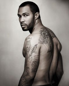 Nothing hotter than a black guy with tattoos