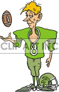Football player waiting on the sidelines holding a football clipart. Football Clip Art, Football Players, Art Bulletin Boards, Art Images, Hold On, Waiting, Graphics, Cartoon, Fictional Characters