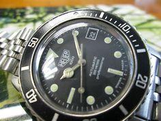 Vintage Heuer 1000 Automatic Diver Watch 200M Professional