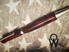 Cocobolo bois précieux mexique mécanisme or stylo en bois