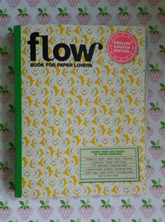 Flow book for paper lovers!  https://absolutehester.wordpress.com/2015/07/26/flow-book-for-paperlovers/