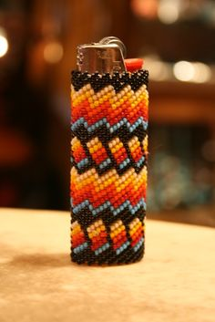 Zuni Beaded Lighter