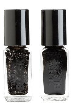 THE NEW BLACK 'Black Ice - Glimmer Nail