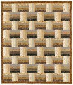 Basket Weave Quilt Pattern. $9.99, via Etsy.