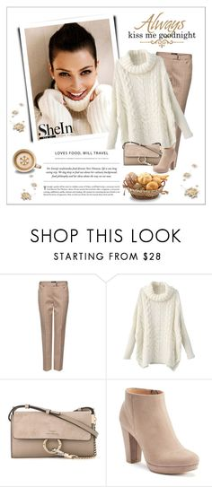"""""""Untitled #286"""" by jelenamaks ❤ liked on Polyvore featuring WALL, MARC CAIN, Chloé, LC Lauren Conrad, Fall, Sweater and women"""