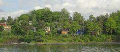 Tenk å ha det så fint bare 1 km unna Vippetangen! Oslo, Fjord, River, Outdoor, Outdoors, Outdoor Games, The Great Outdoors, Rivers