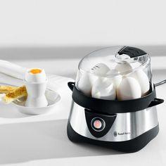 Russell Hobbs Stylo Egg Cooker The winner of the comparison test: Safe, fast and always spot-on.